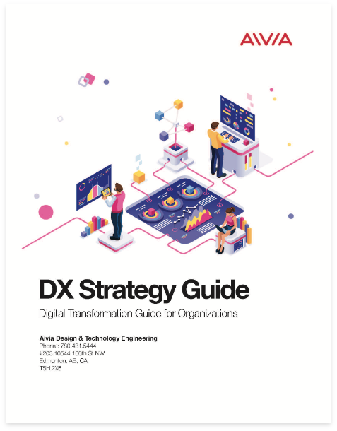 Cover of the digital transformation guide