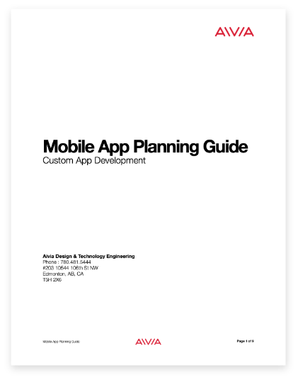 The Mobile App Planning Guide